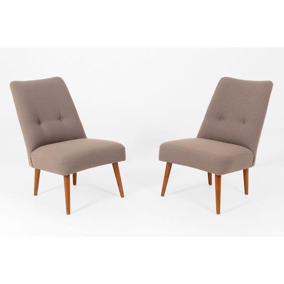Mushroom wool armchair image