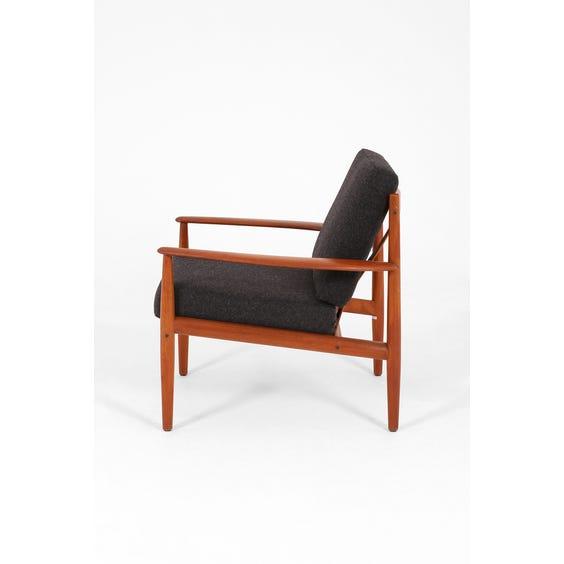 Charcoal Grete Jalk armchair image