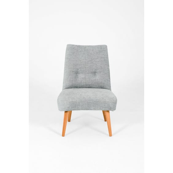 Pale blue grey occasional chair image