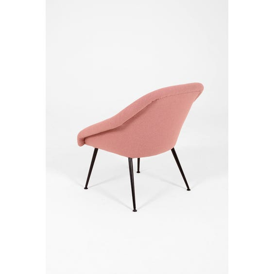 Midcentury dusky pink chair image
