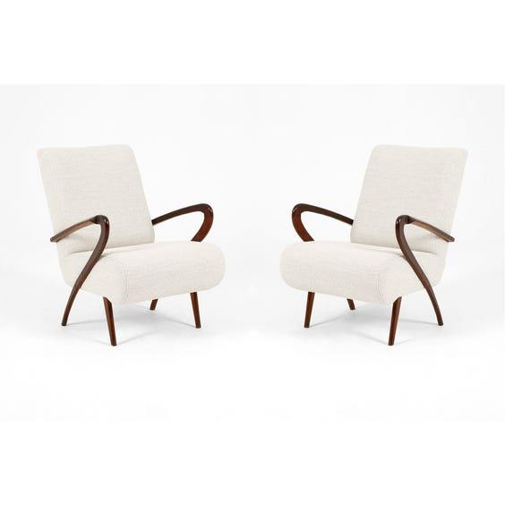 Midcentury Italian loop armchair image