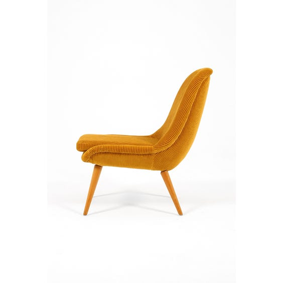 Jumbo cord occasional chair image
