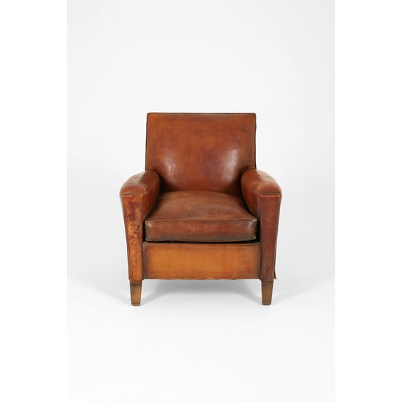 Vintage French club armchair image
