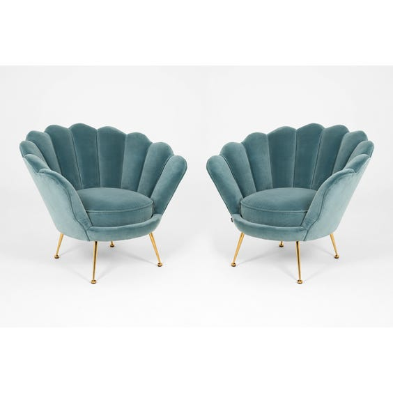 Scallop back cocktail chair image