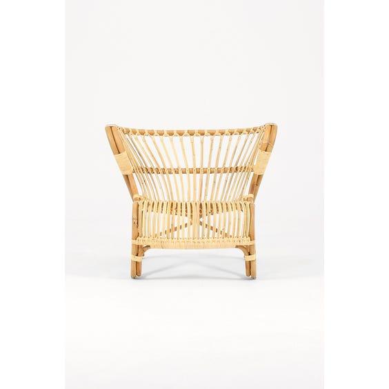 Viggo Boesen rattan armchair image