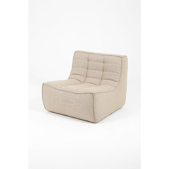 Modern woven lounge chair  image