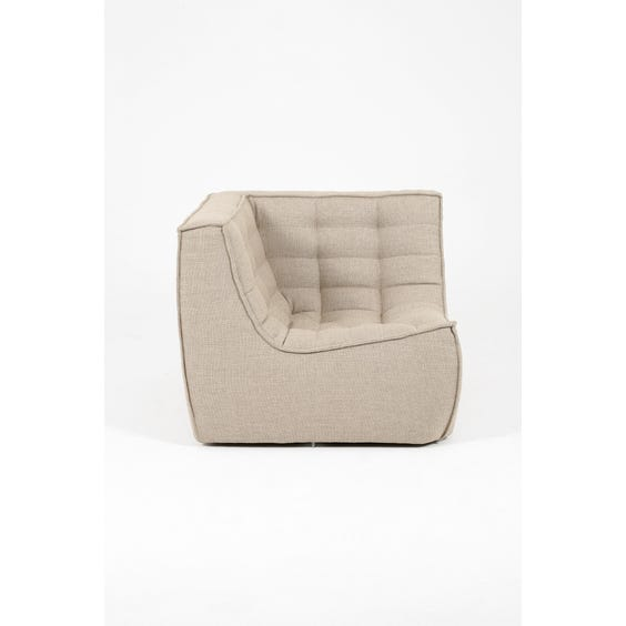 Modern woven corner chair image