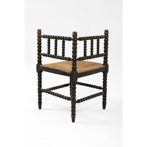 Bobbin corner chair image