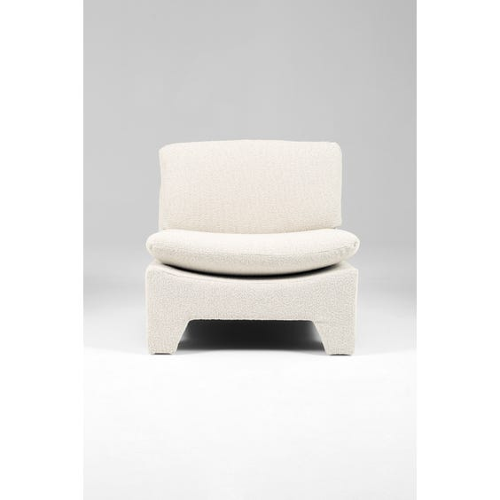 Boucle lounge chair image