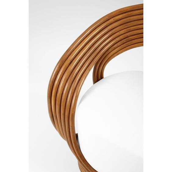 Rattan loop lounge chair image