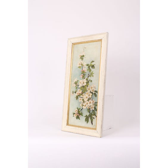 Apple blossom painting image
