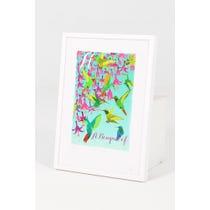 Modern 'A Bouquet of Hummingbirds'