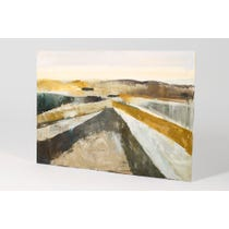 HB abstract painting landscape canvas