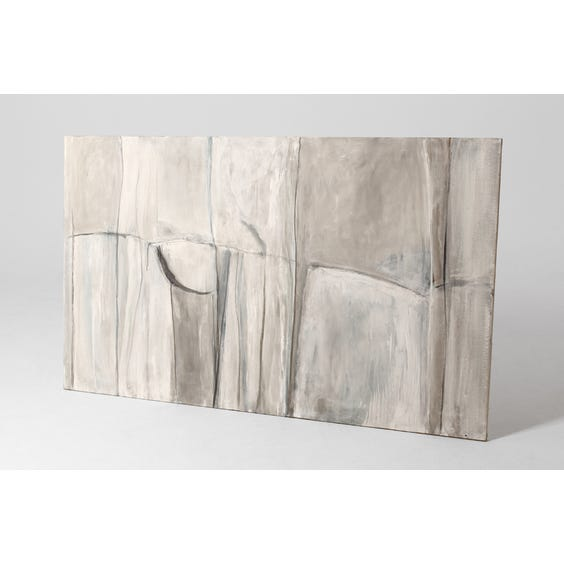 Large abstract linear canvas painting image