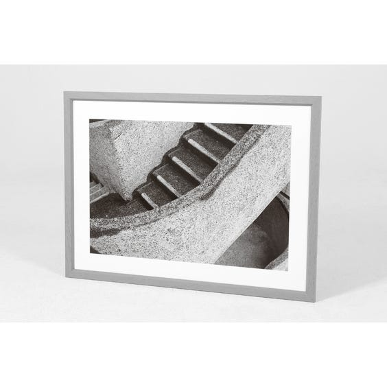 AD concrete staircase photograph image