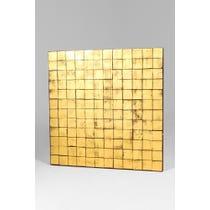 Gold multi square panel