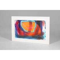 Modern abstract print 'Alight'