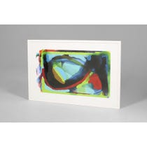Modern abstract print 'Curve'