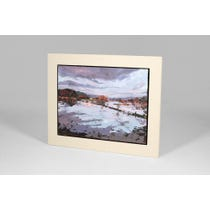 Sue Wales framed oil painting