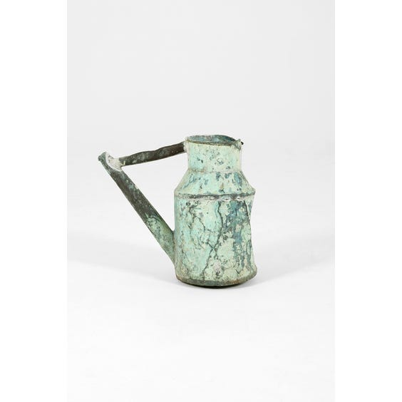 1920's French verdigris vessel image