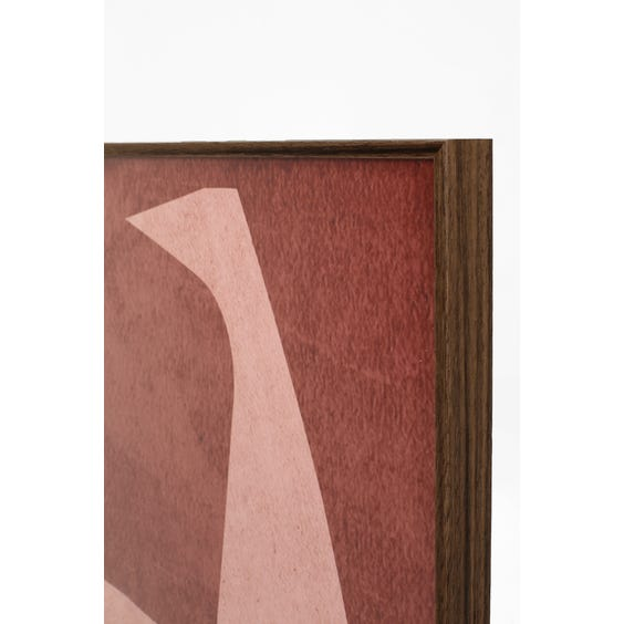 Print of grey and pale pink shapes  image