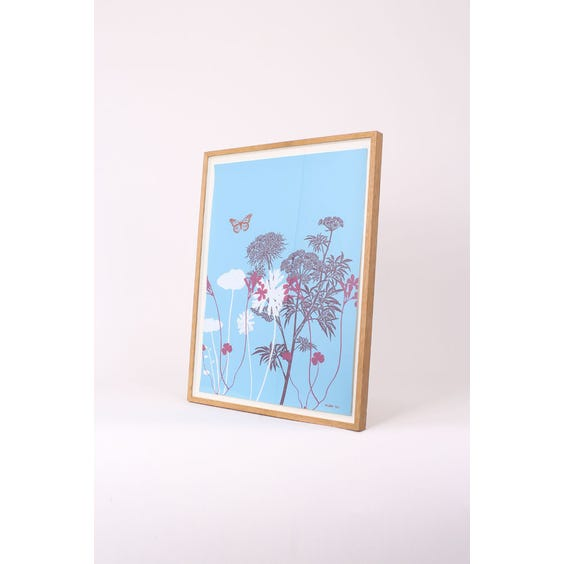 Atelier pale blue graphic print image