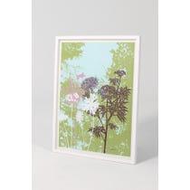 Atelier graphic floral print