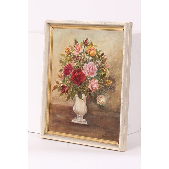 Oil painting of roses image