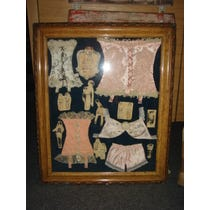 Leo's corsets and lingerie framed