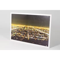 Drino night city panoramic print