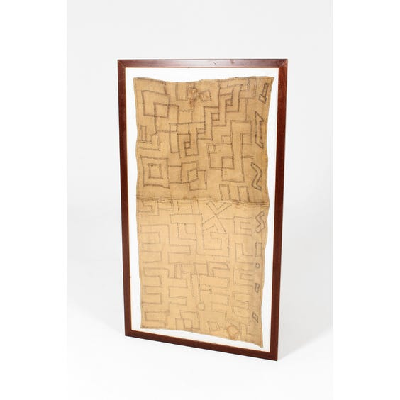African geometric wall hanging image