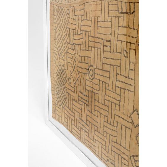 African geometric wall hanging image