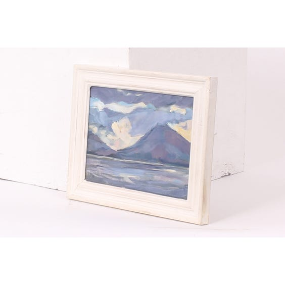 Sue Wales lake landscape painting image