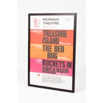 Vintage 'Mermaid Theatre' bill poster