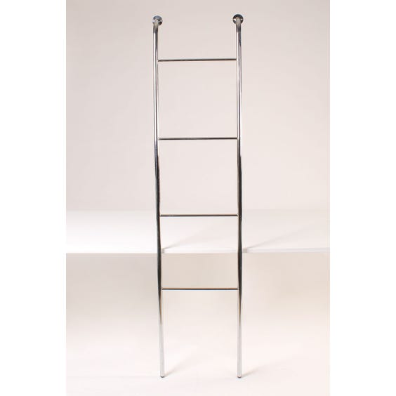 Chrome four rung towel ladder image