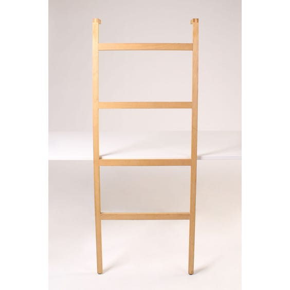 Wood four rung towel ladder image