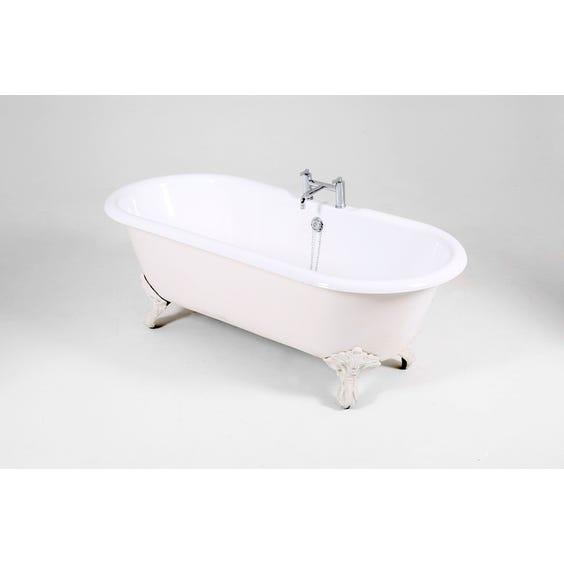 White cast iron bath tub image