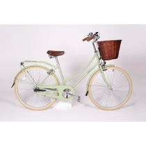 Traditional sage green bobbin bike