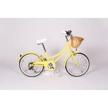 Child's yellow Bobbin bicycle