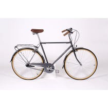 Traditional metallic steel Bobbin bicycle