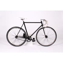 Black Fixie racing bike