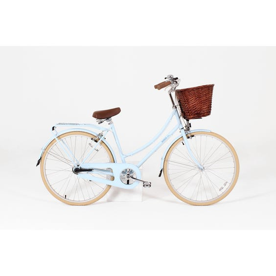 Traditional pale blue Bobbin bicycle image