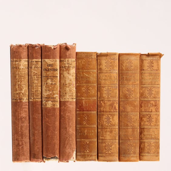 Example of leather books image