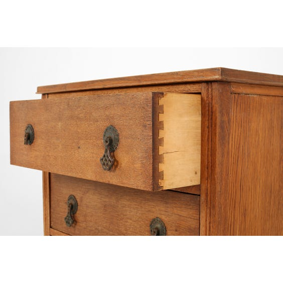 Small wooden chest of drawers image
