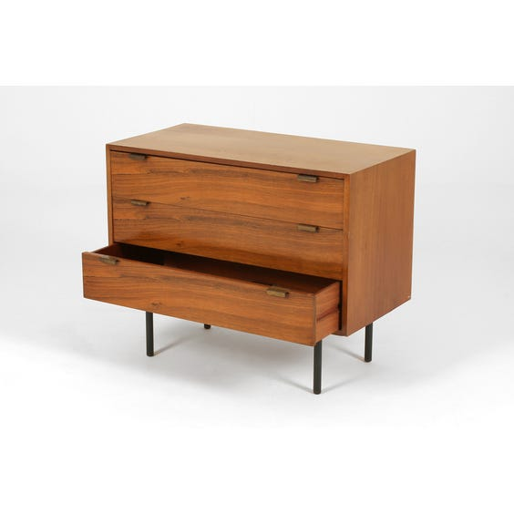 Walnut chest with rosewood drawers image