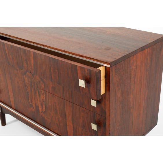 Midcentury Danish rosewood chest image