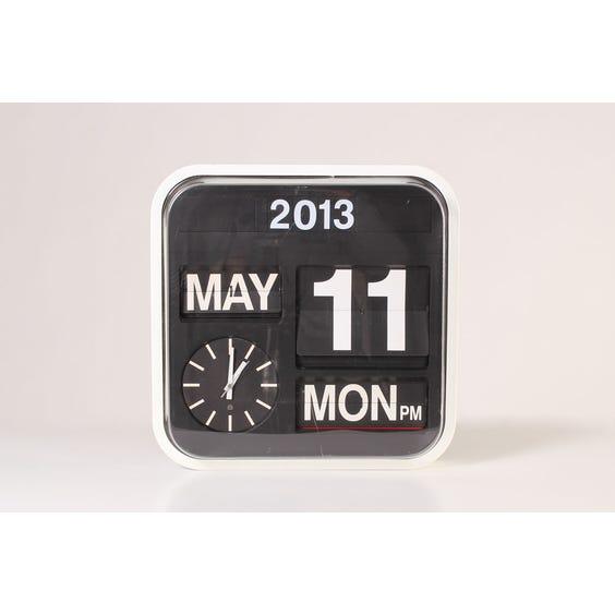 Modern flip wall clock image