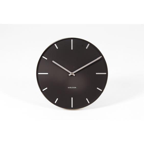 Karlsson circular steel wall clock image