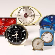 Example of retro alarm clocks