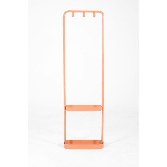 Pink metal hallway coat stand image